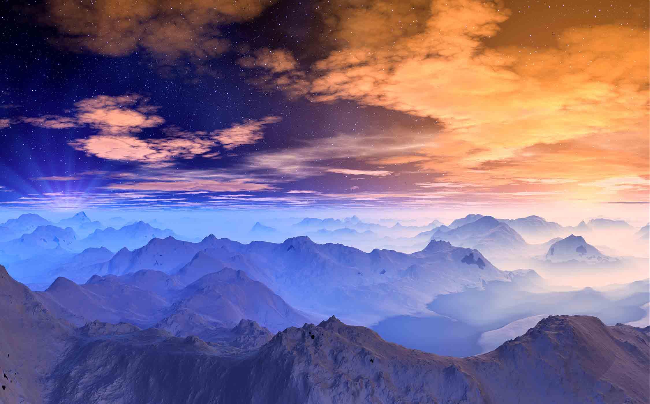 Sonnenuntergang Birkkarspitze