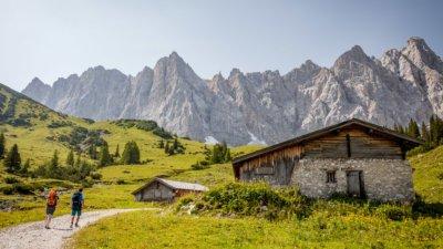 Wandern im Alpenpark Karwendel