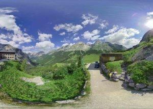 Karwendelhaus in 360 Grad